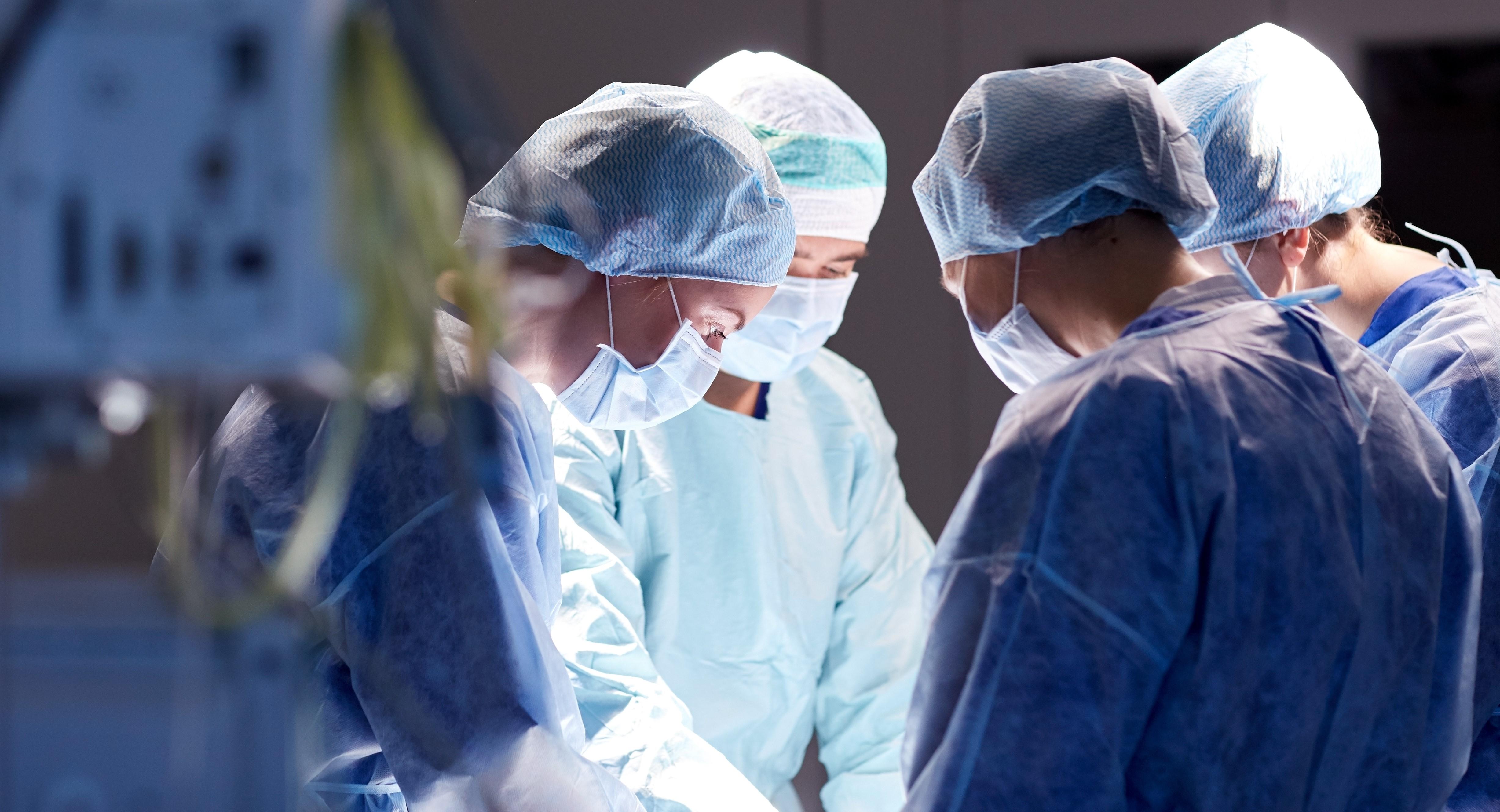 L'intervento chirurgico
